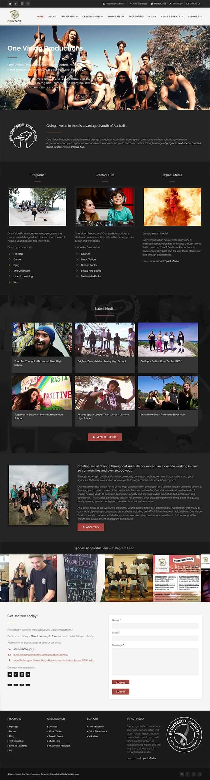 OVP Website Portfolio