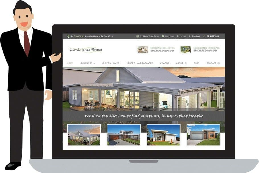 eco-essence web design