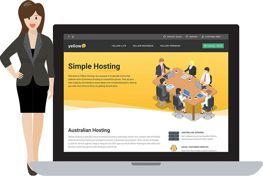 Yellow Hosting e-Commerce Gold Coast Case Study