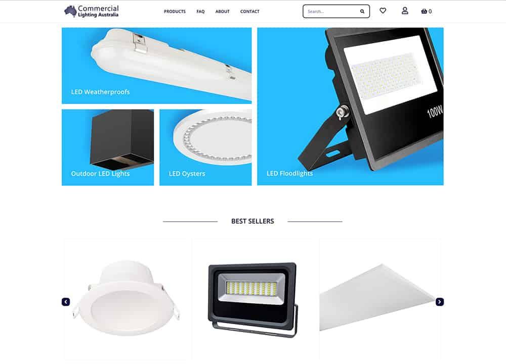 Commericial-Lighting-Australia-Website-Develolpment