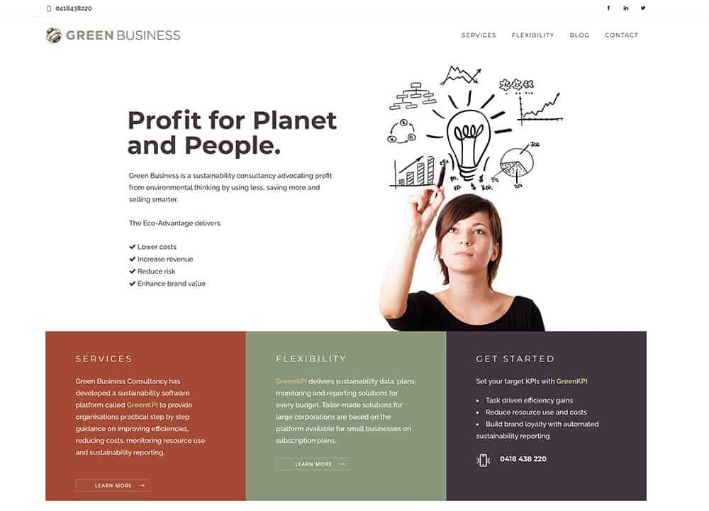Green-Business-Website