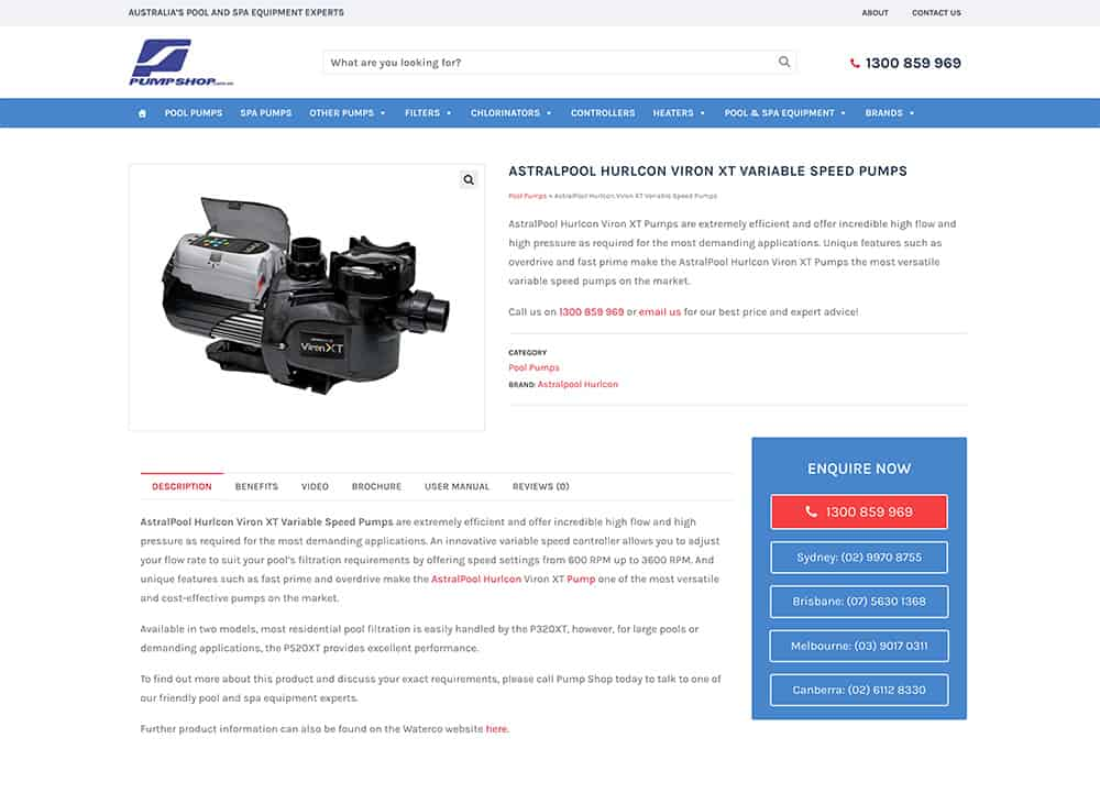 Pump-Shop-Website-Product