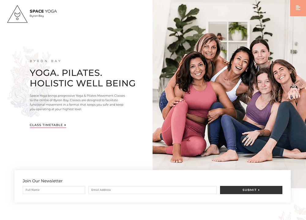 Space-Yoga-Website