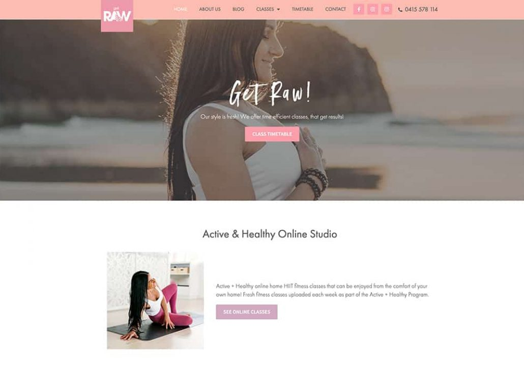 Get-Raw-Bootcamps-Website