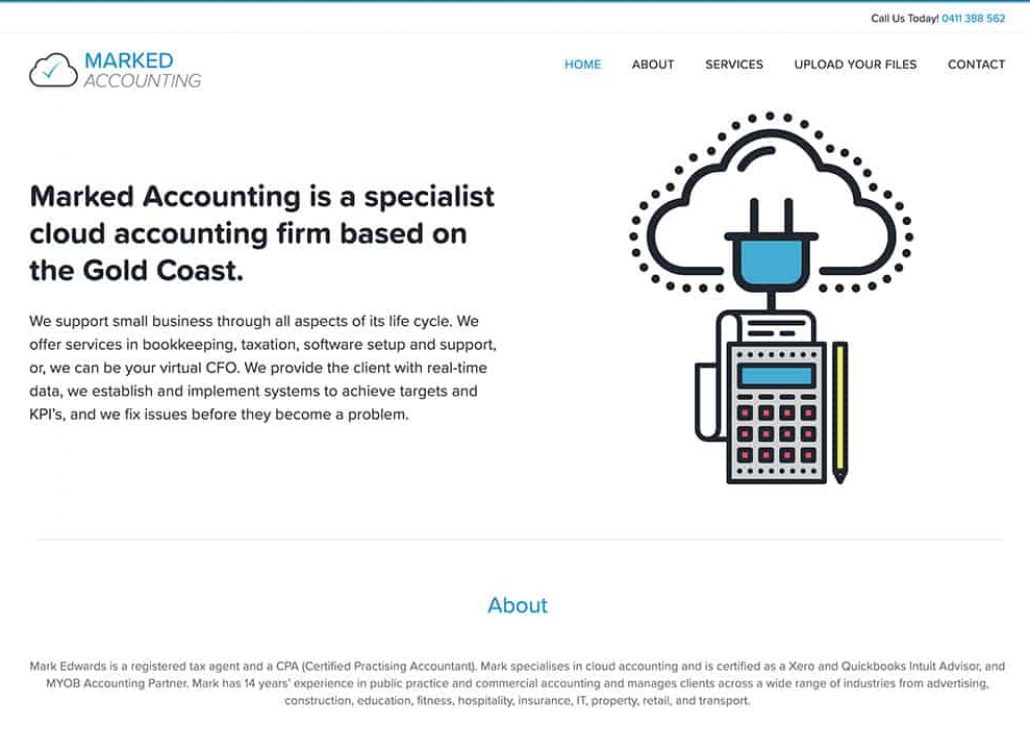 Marked-Accounting-Website