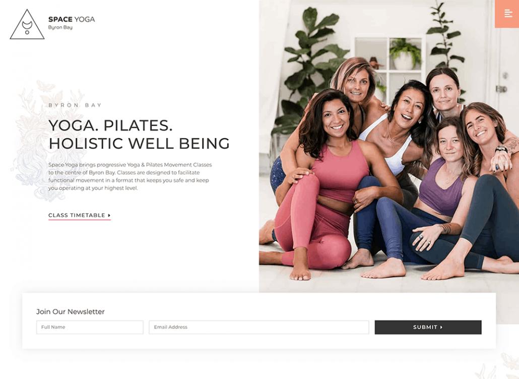 Space-Yoga-Website